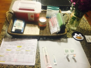 I love organizing..even if it is for injections.